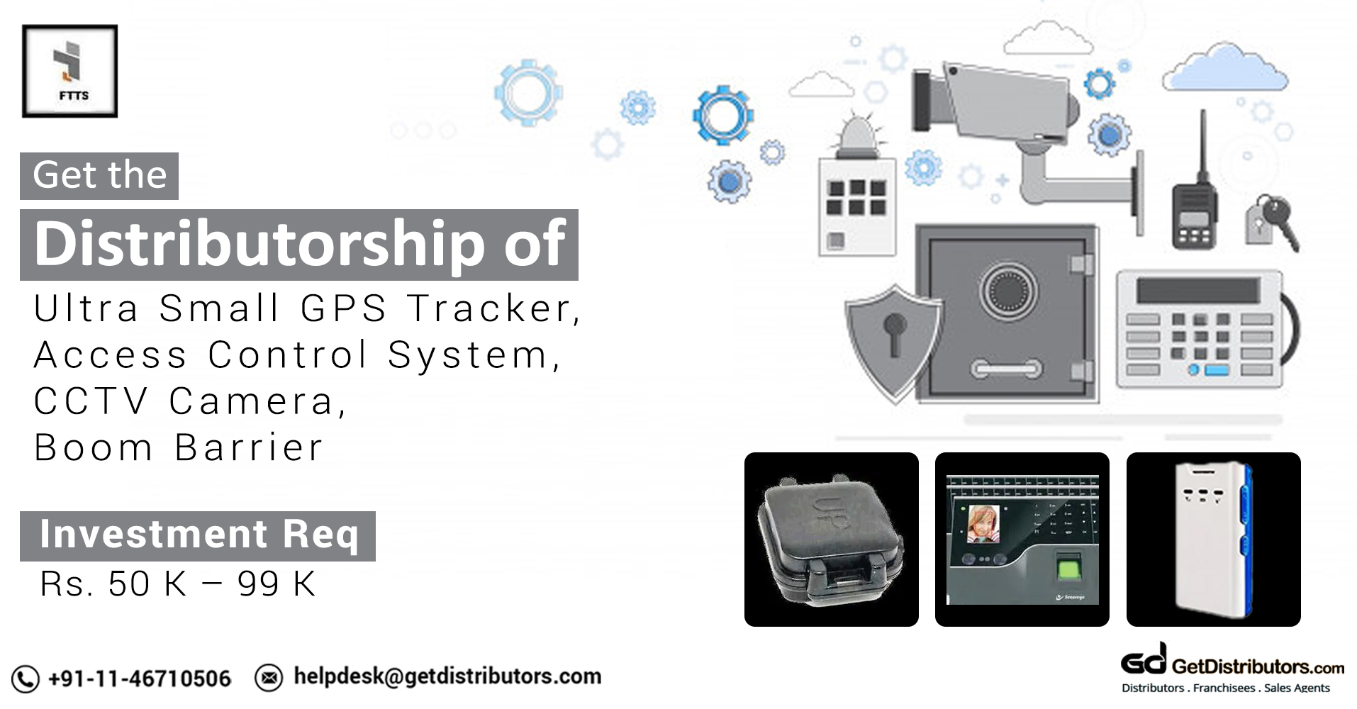 High Tech Tracking And Security Systems Distributorship At Affordable Rates