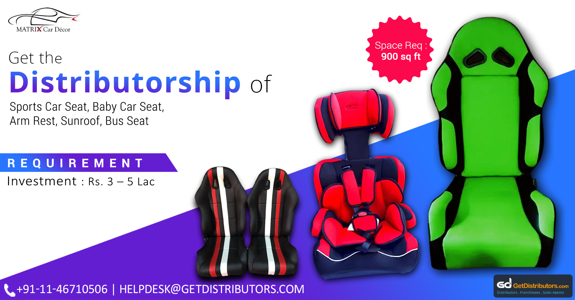 Inventively Designed, Comfortable & Highly Durably Car Seating Solutions