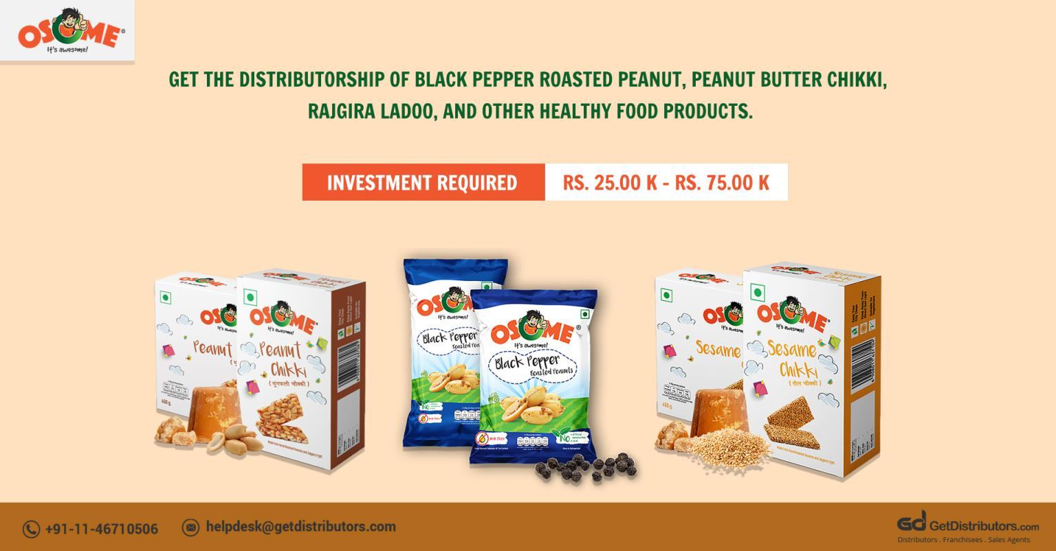 Delectable, Fresh & Healthy Food Products Distributorship