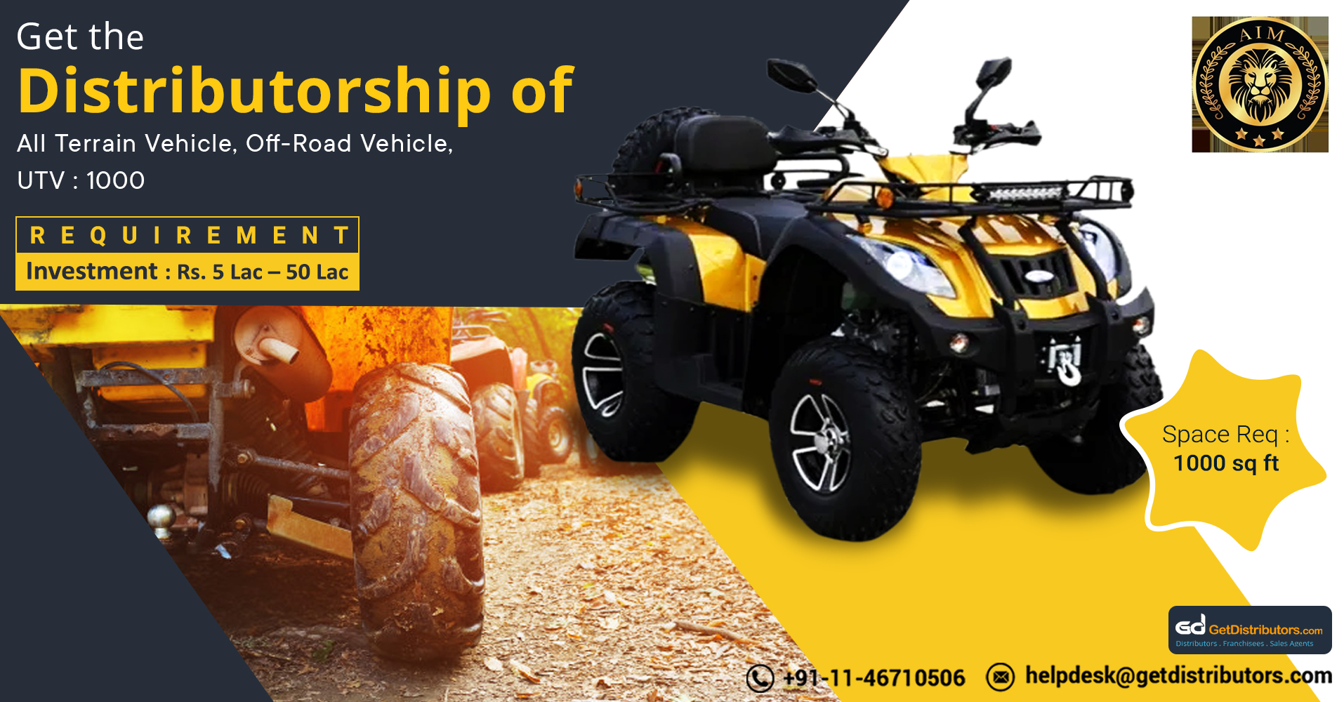 Robust And High Performing All-Terrain Vehicles, Utility Task Vehicle, And Off-Road Vehicle