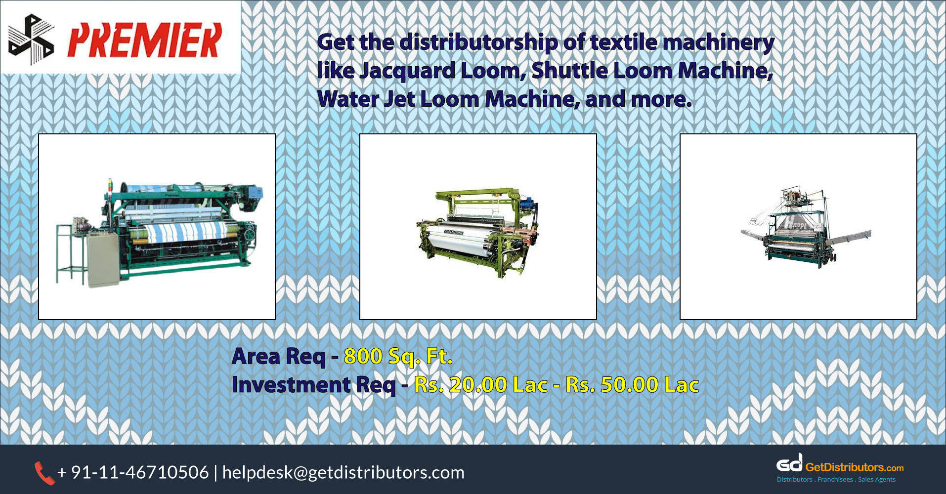 Easy To Operate & Efficient Textile And Garment Machinery