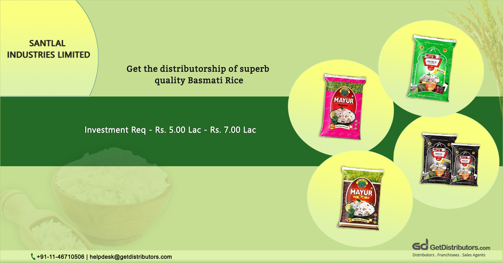 Long Grain Basmati Rice With Delectable Aroma