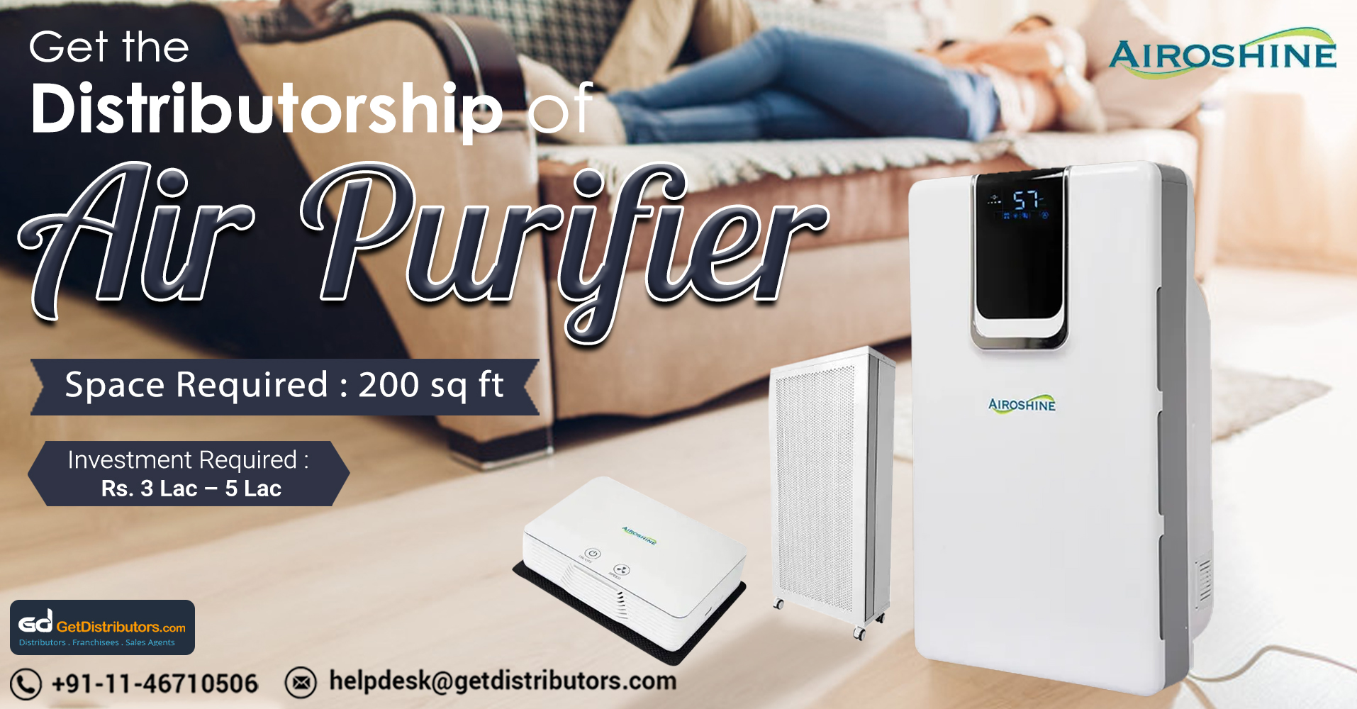 Breathe Clean Air With Our Extensive Range Of Air Purifiers