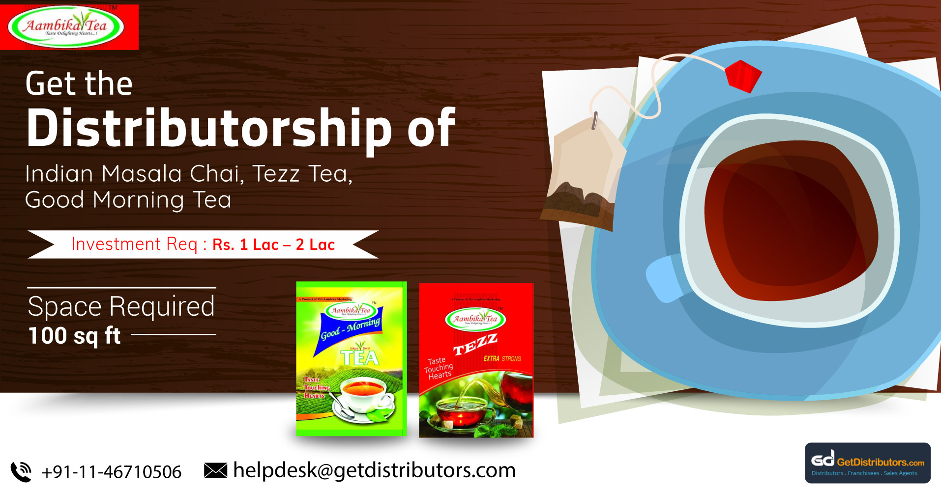 Offering Finest Quality Tea At Pocket-Friendly Rates