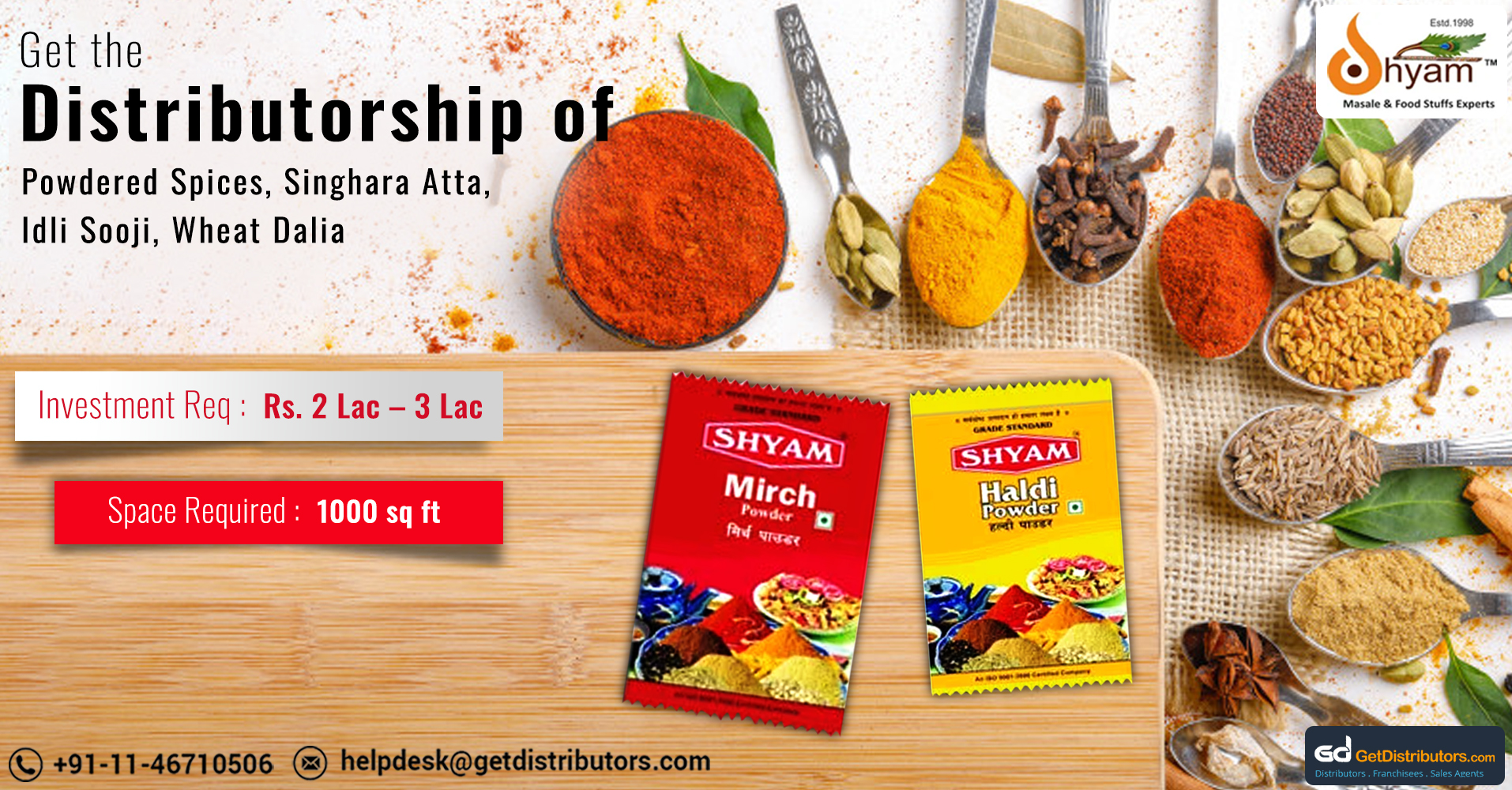 Optimum Quality Indian Spices At Affordable Rates