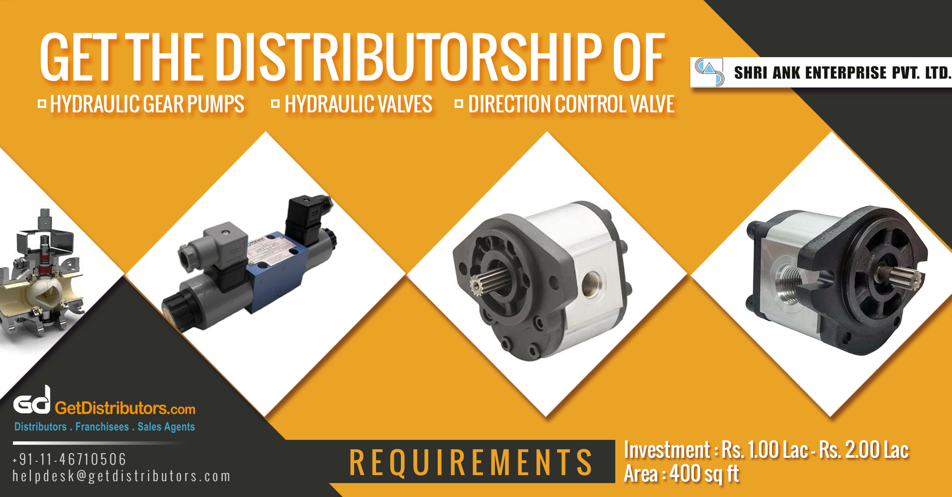 Robust And Easy To Use Hydraulic Pumps & Valves At Reasonable Prices