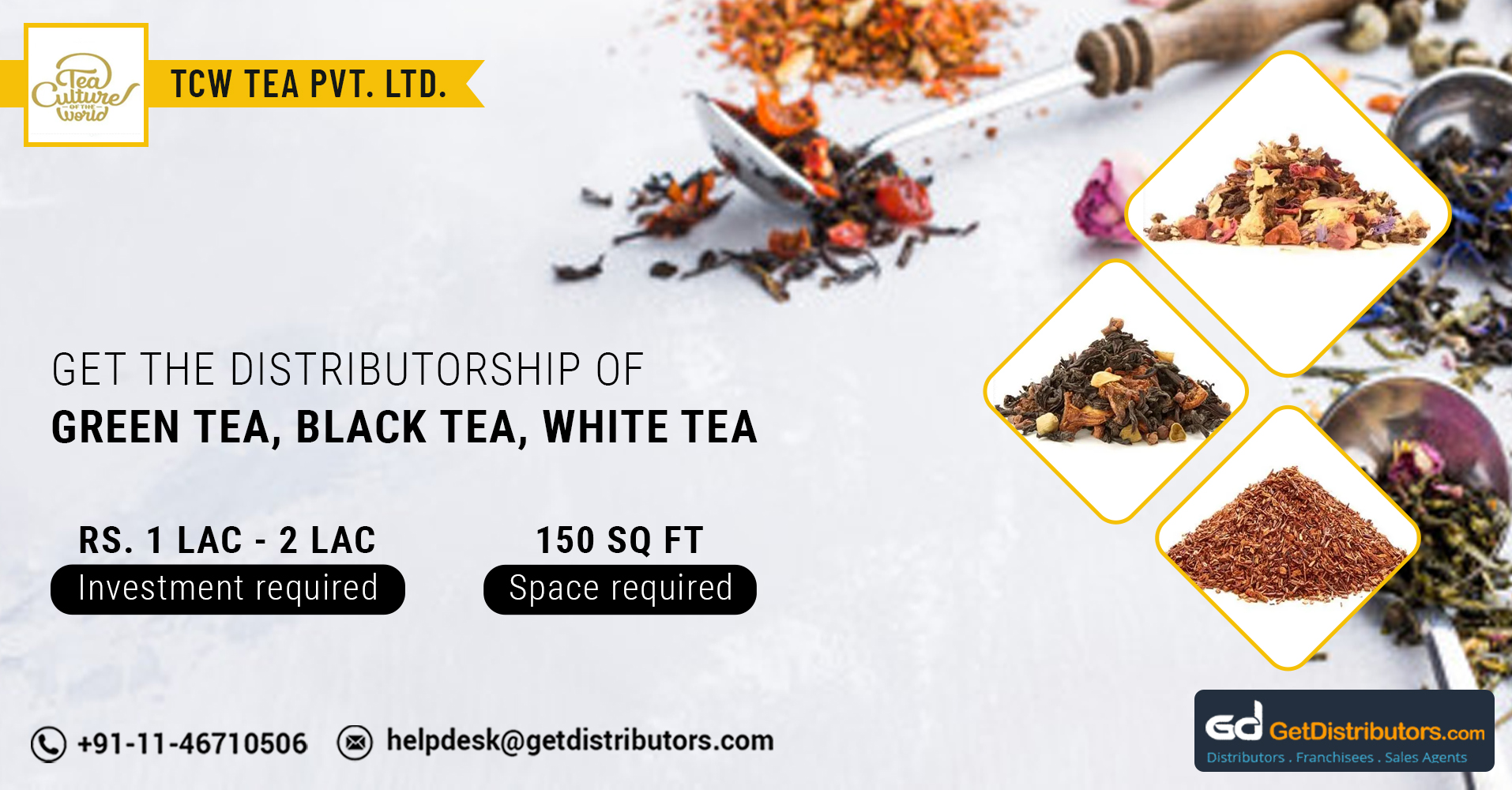 High-Quality Tea Range For Distribution