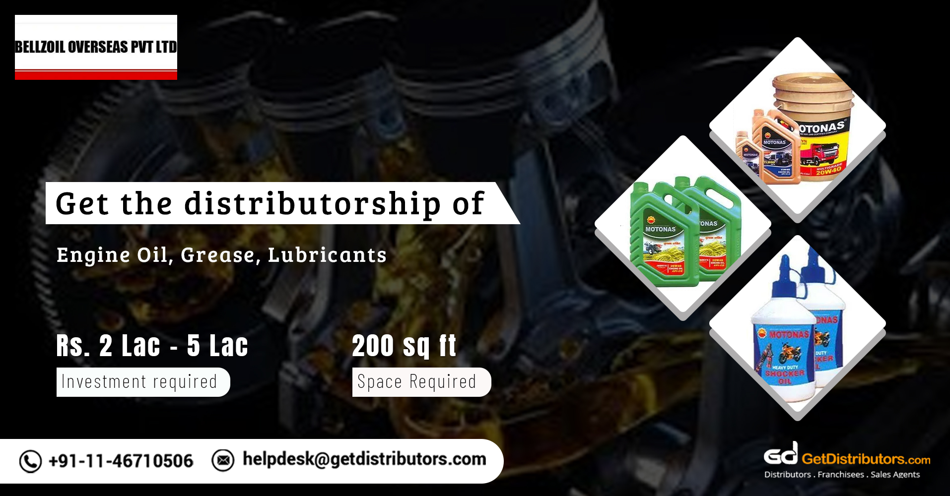 Superior Grade Engine Oils, Lubricants & Greases