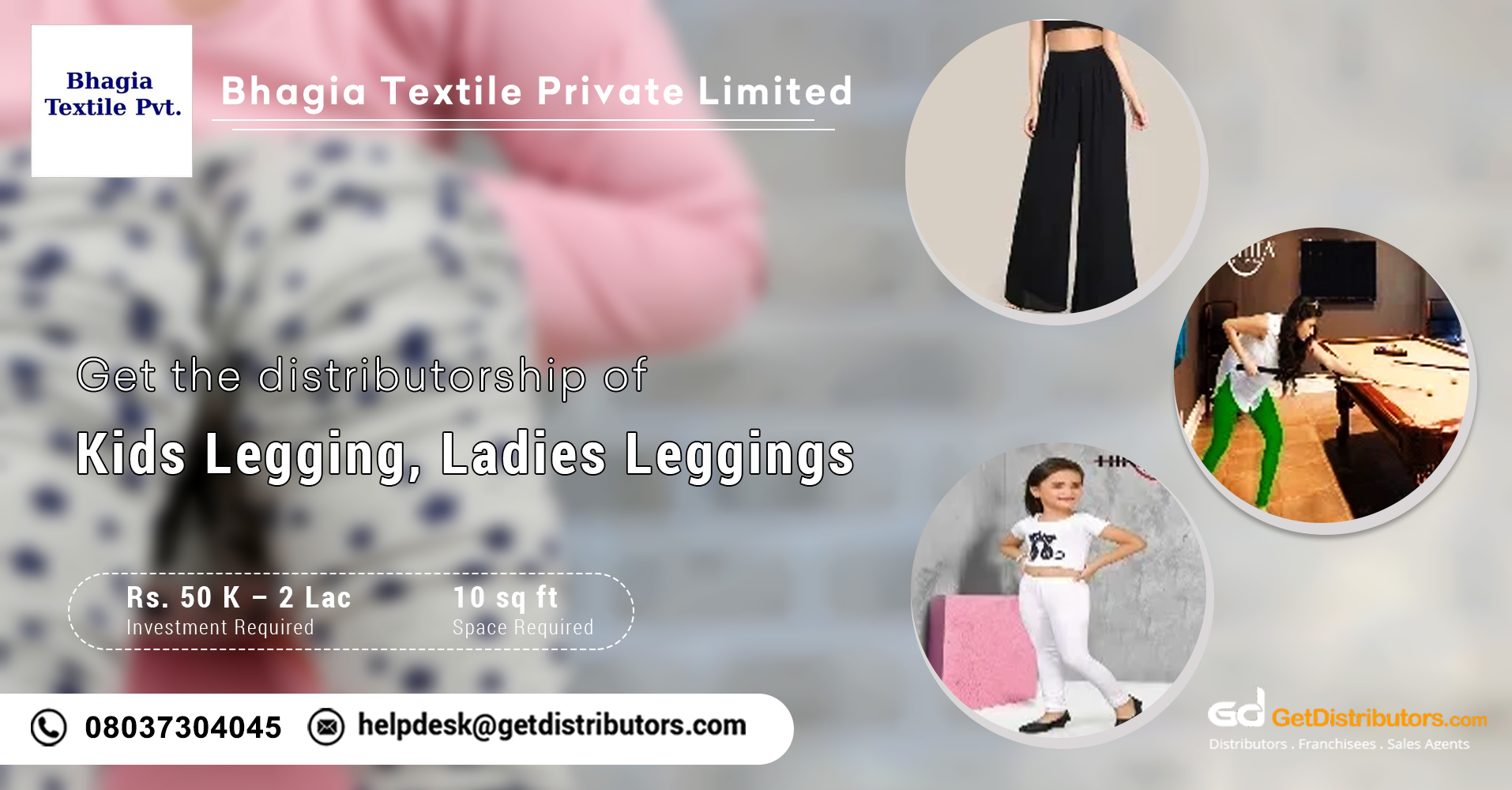 Fashionable leggings distributorship at affordable prices