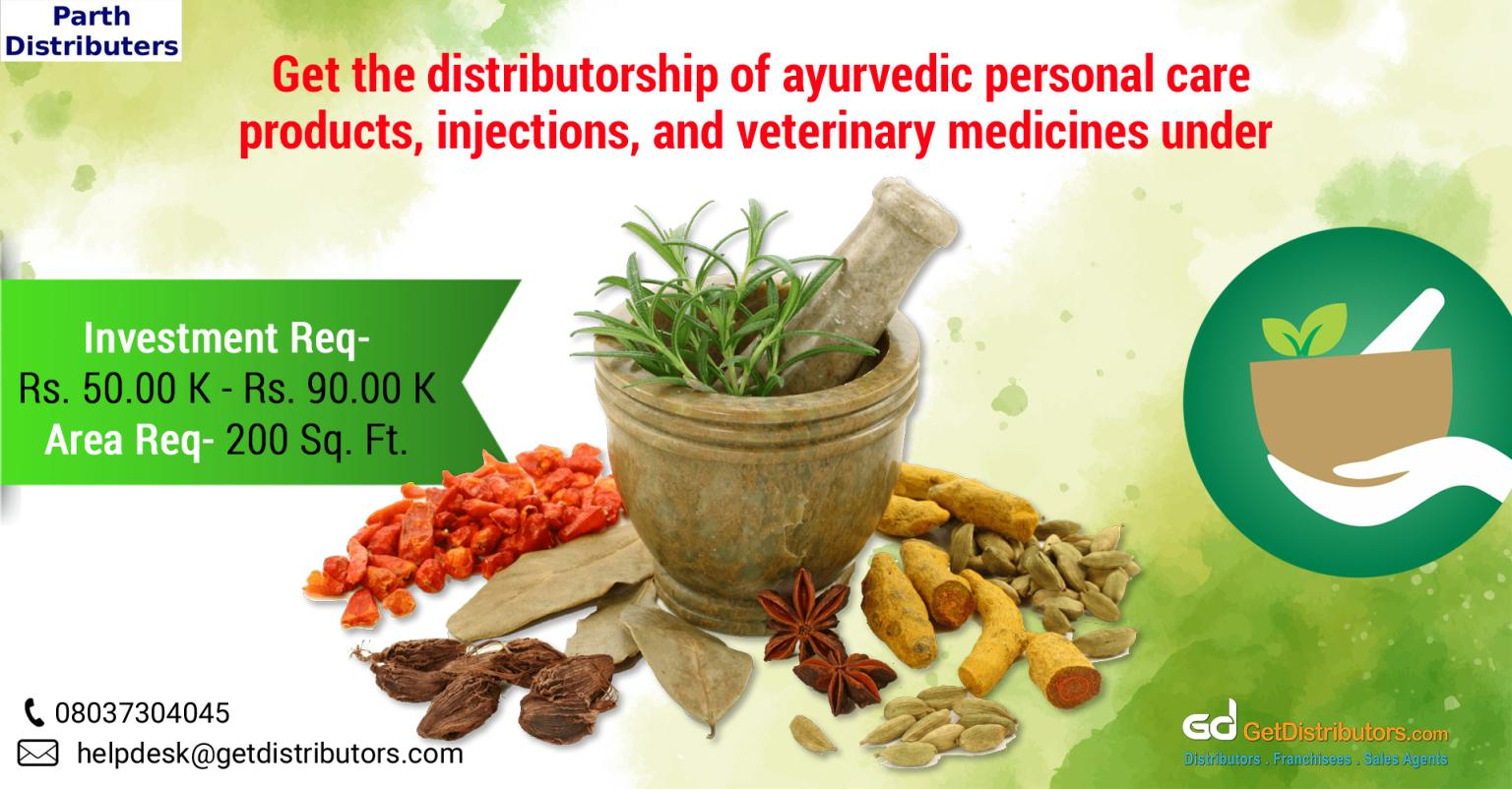Premium quality ayurvedic products and veterinary medicines for distribution
