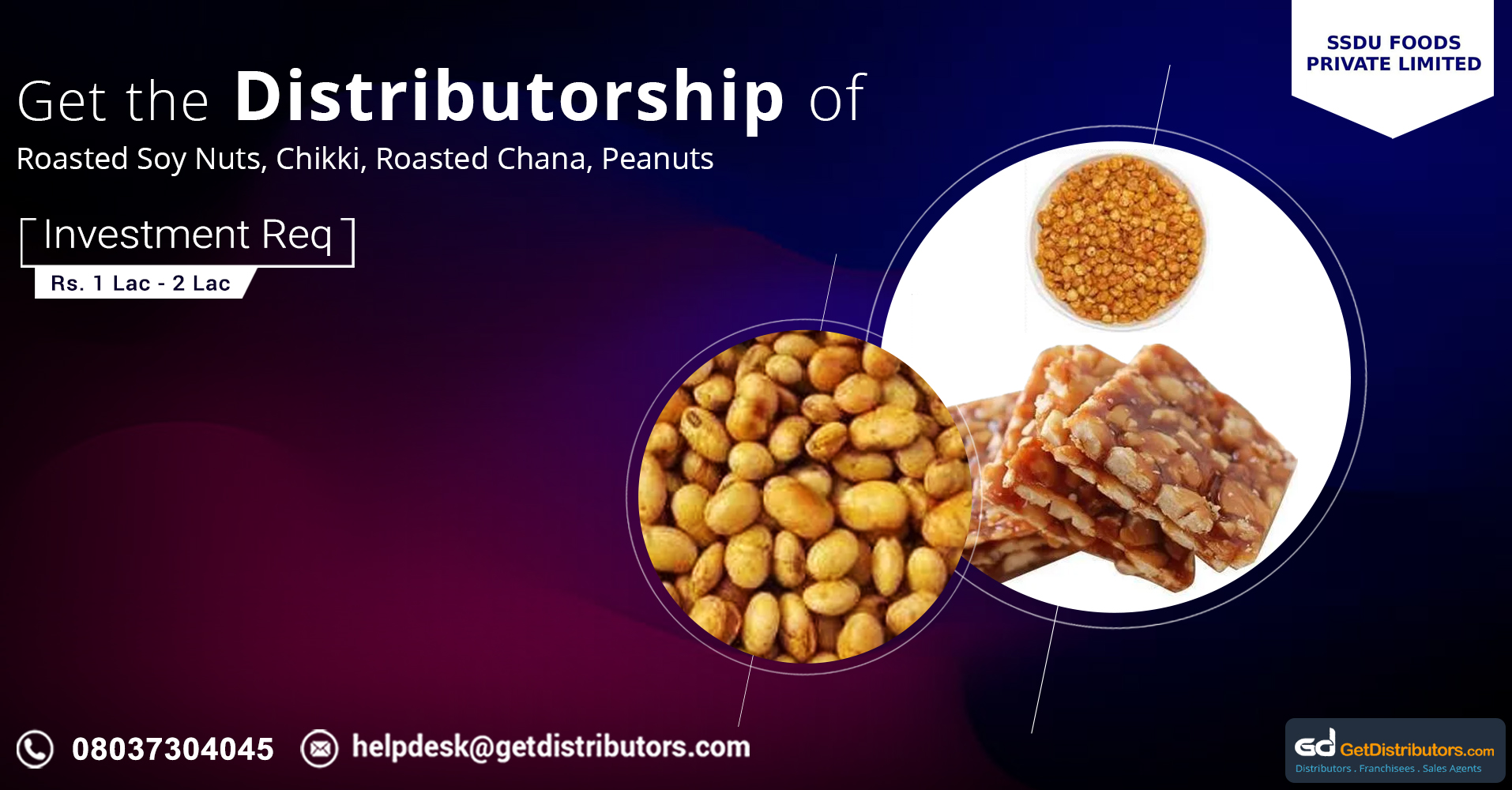 Extensive range of delectable Indian snacks for distribution