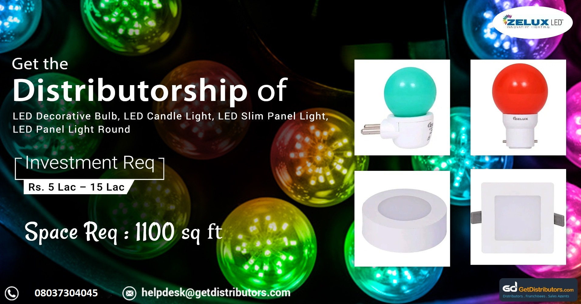 Offering premium grade Bulbs, Tubelight, Decorative Lights, Residential Lighting and LED Products