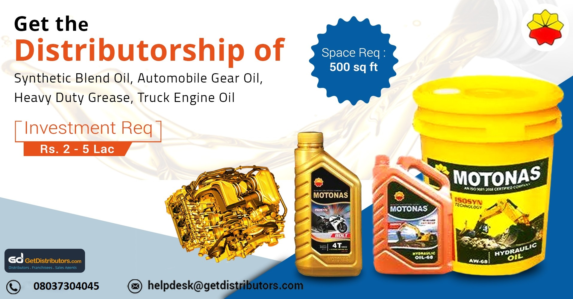 Offering industrial oils, lubricants, and grease at affordable price