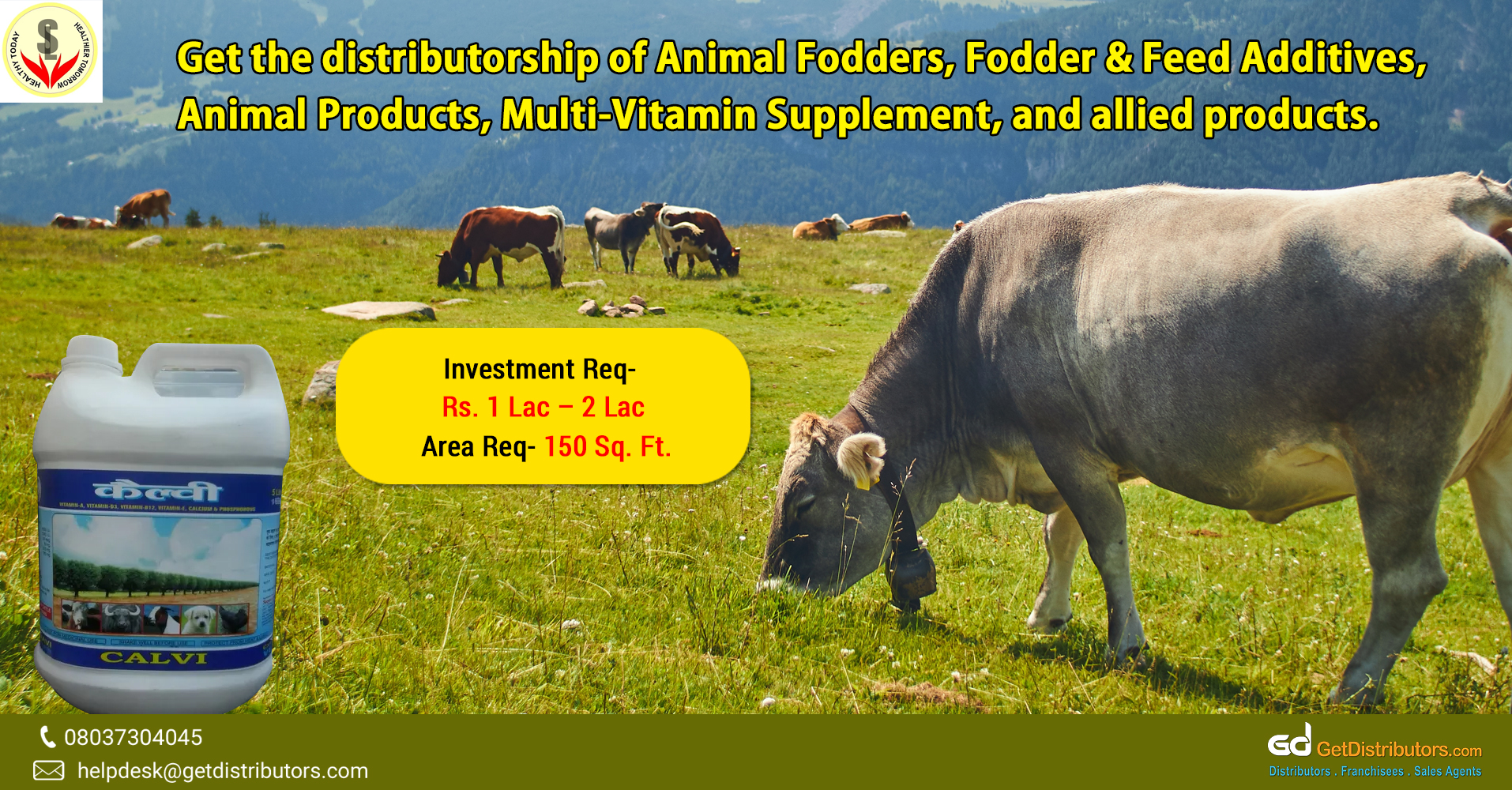Offering a wide range of animal fodder and supplements for distribution