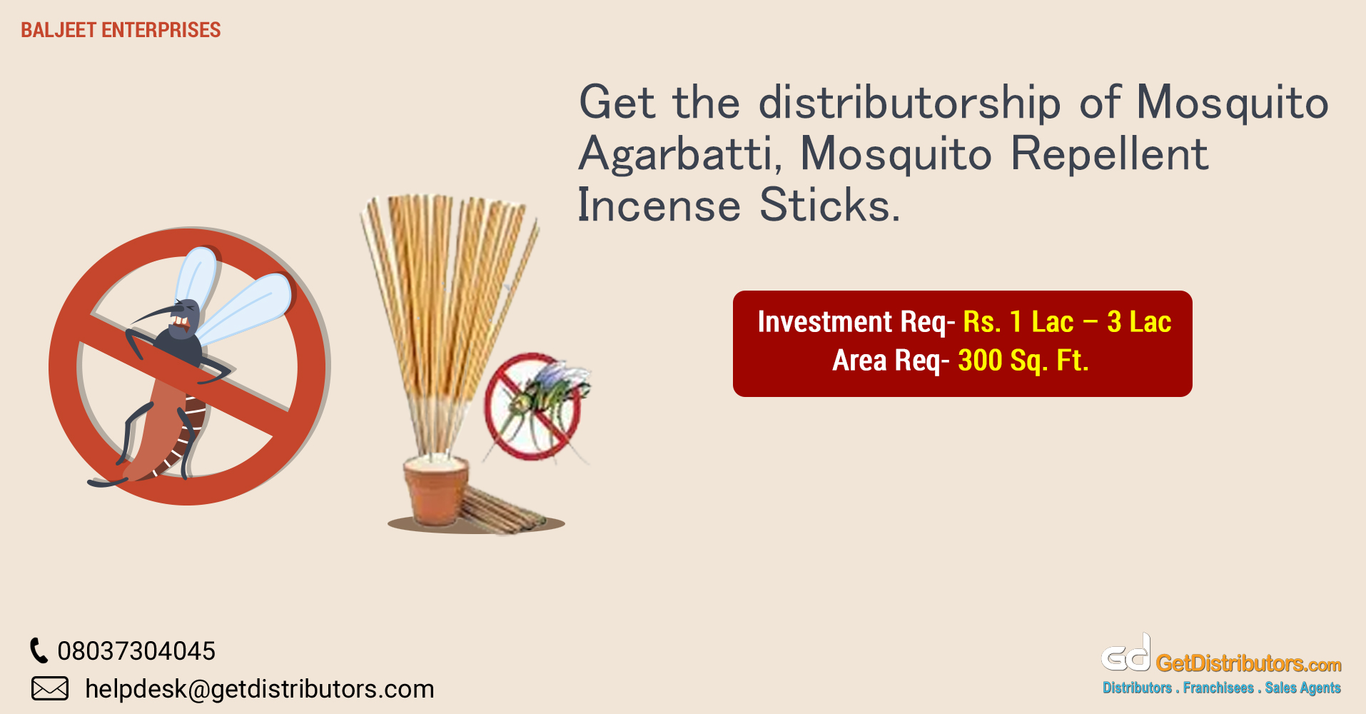 Incense sticks and agarbattis to keep mosquitos at bay