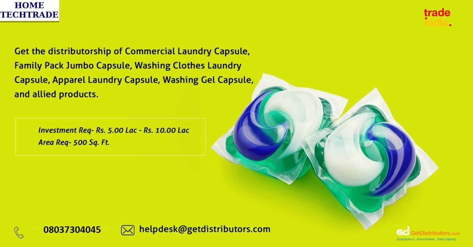 Effective laundry capsules offering best stain removal
