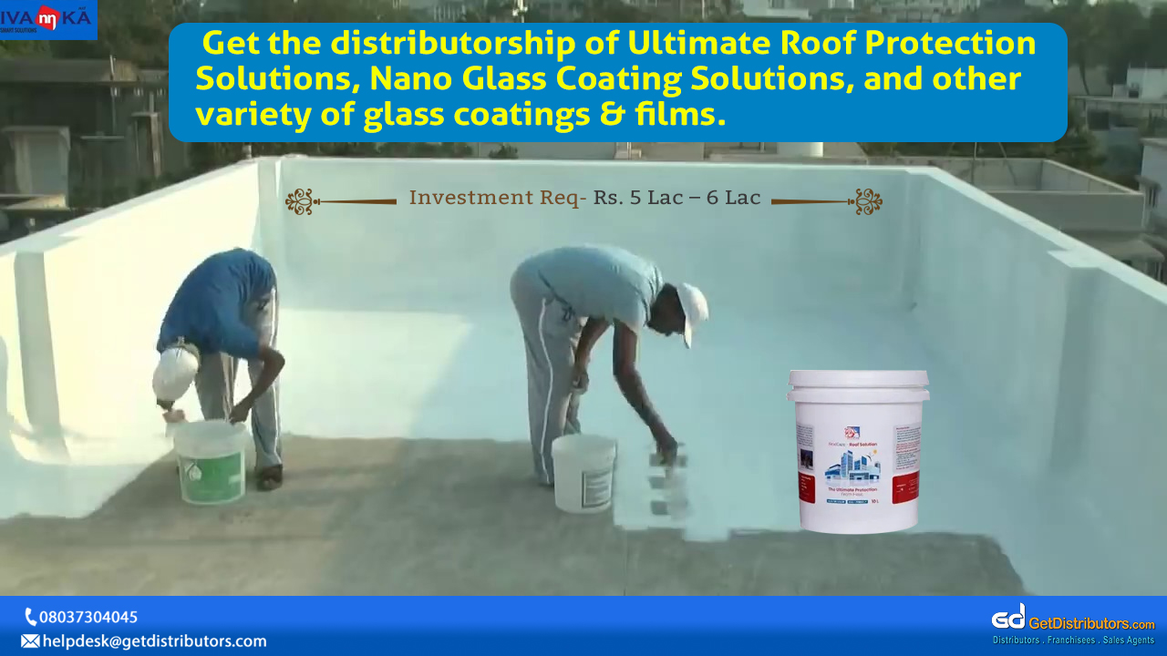 A variety of glass coatings & films for distribution