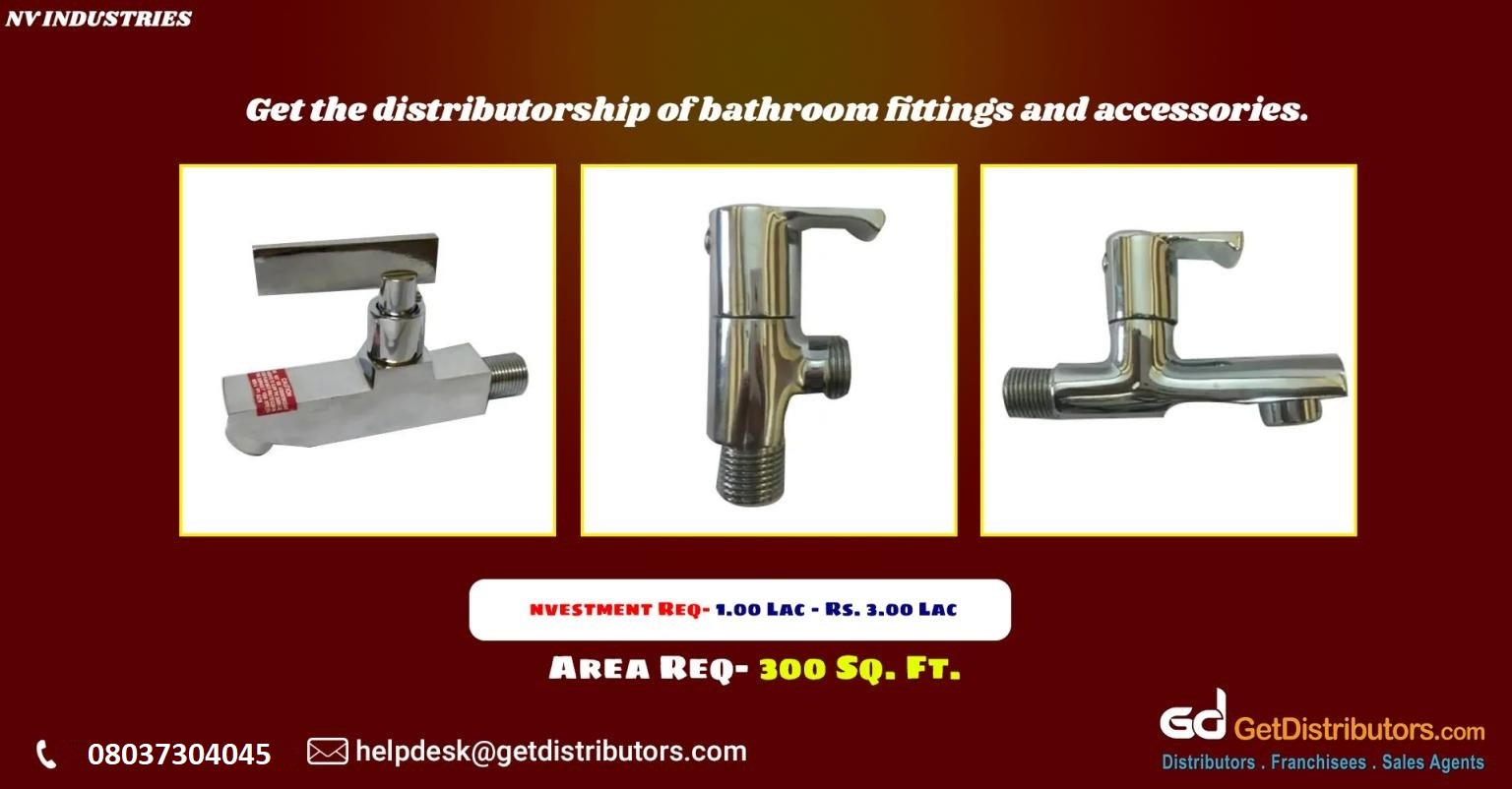Top grade bathroom fittings and accessories for distribution