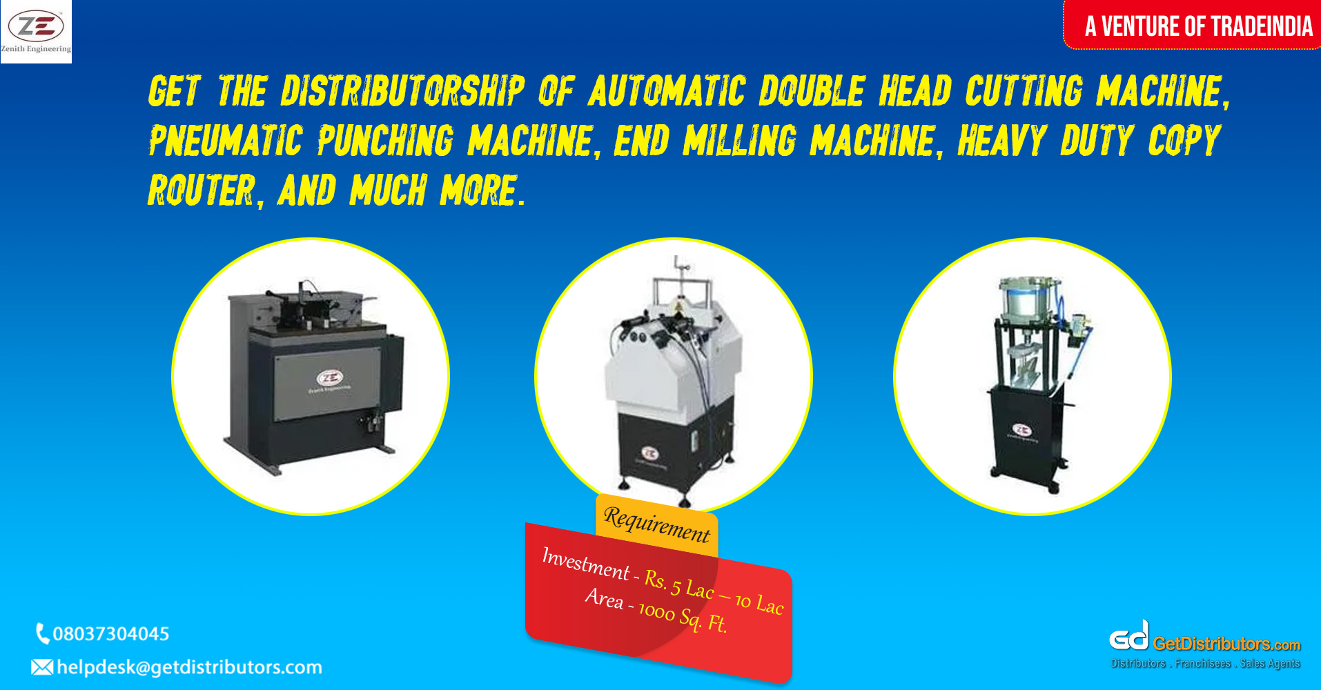 Highly efficient machinery that is maintenance free