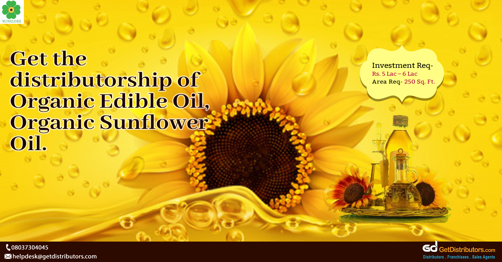 Healthy & nutritious edible organic oil for distribution