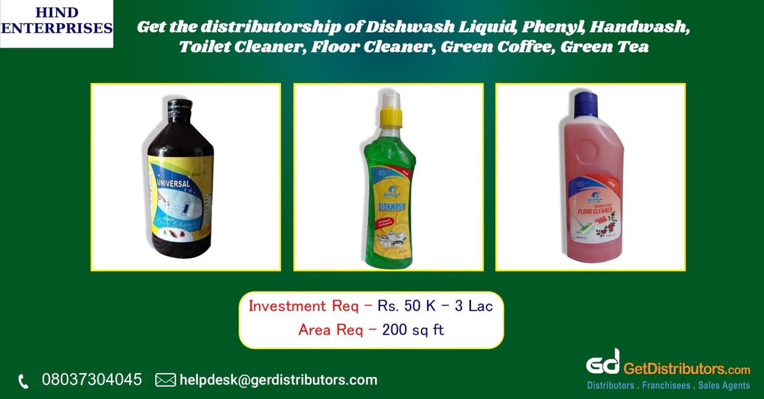 Top grade chemicals and beverages for distribution