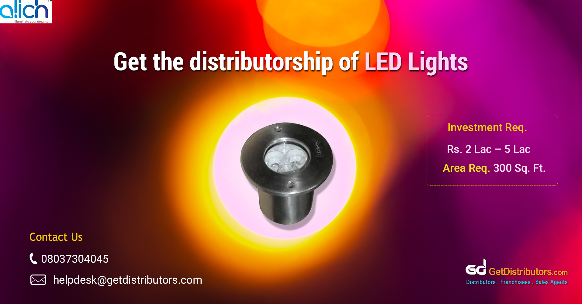 Eco-friendly and energy-efficient LEDs for distribution
