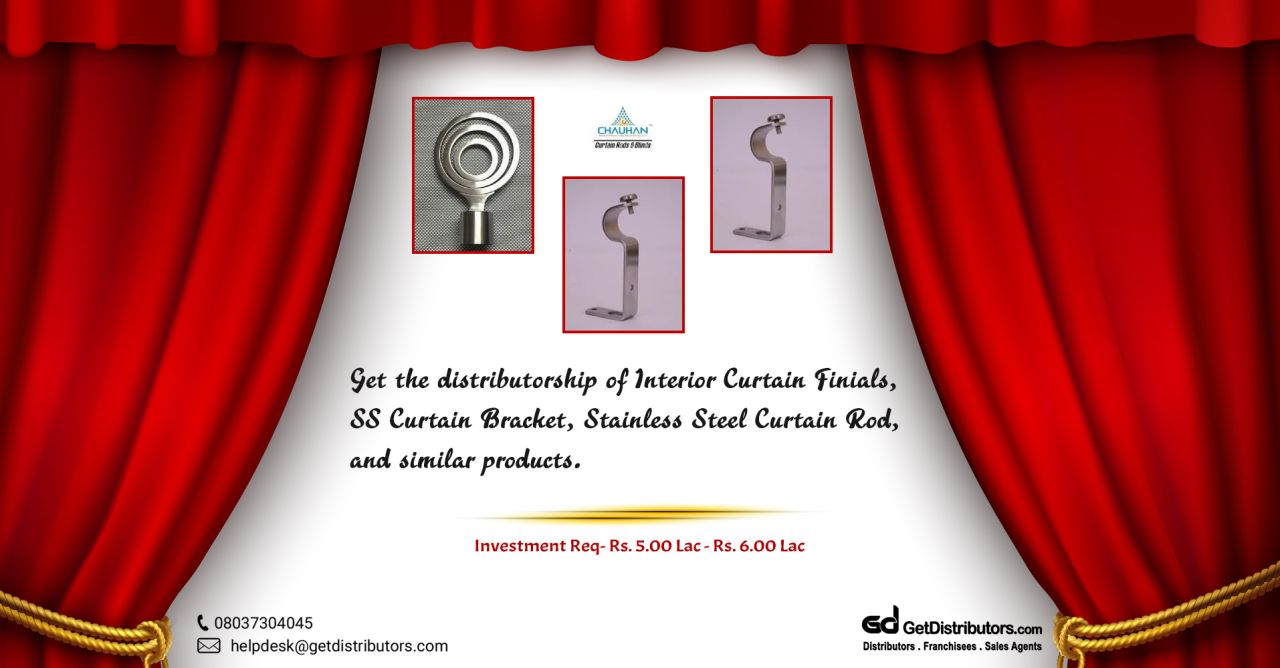 Top grade curtain accessories for distribution