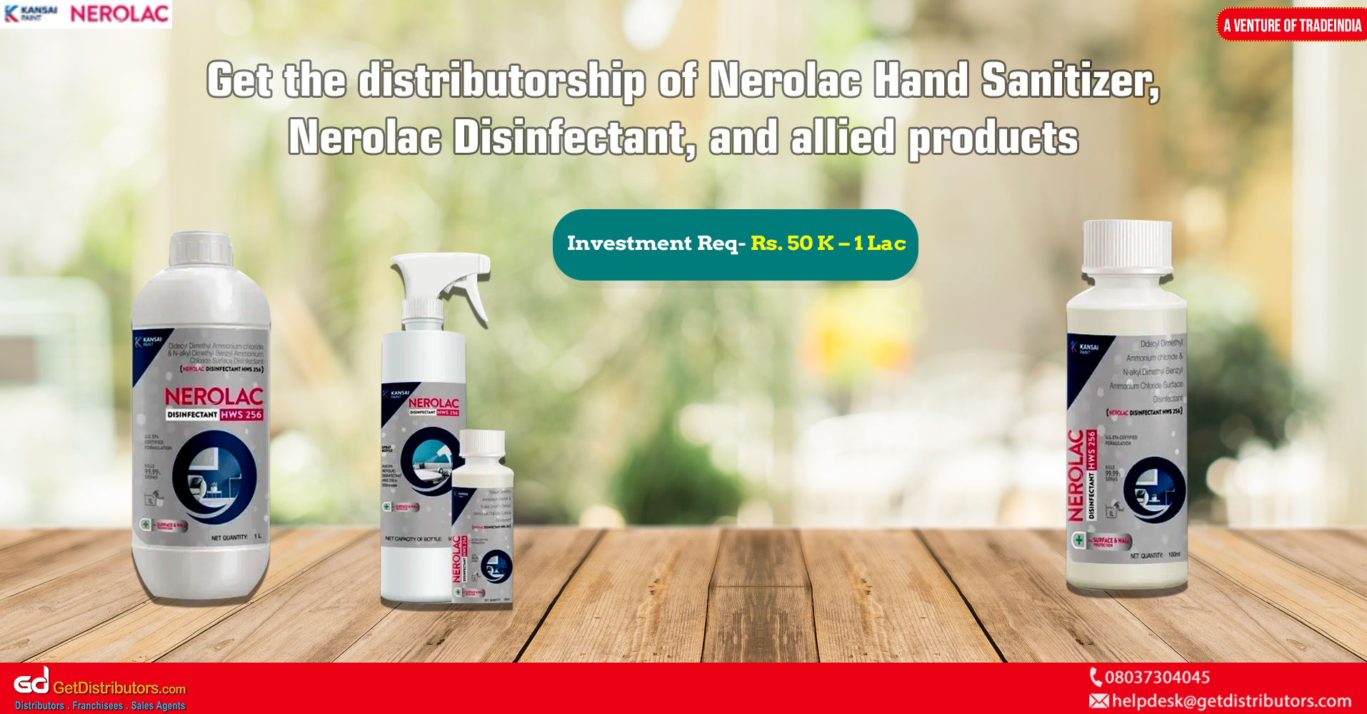 Quality assured hand sanitizers and surface disinfectants