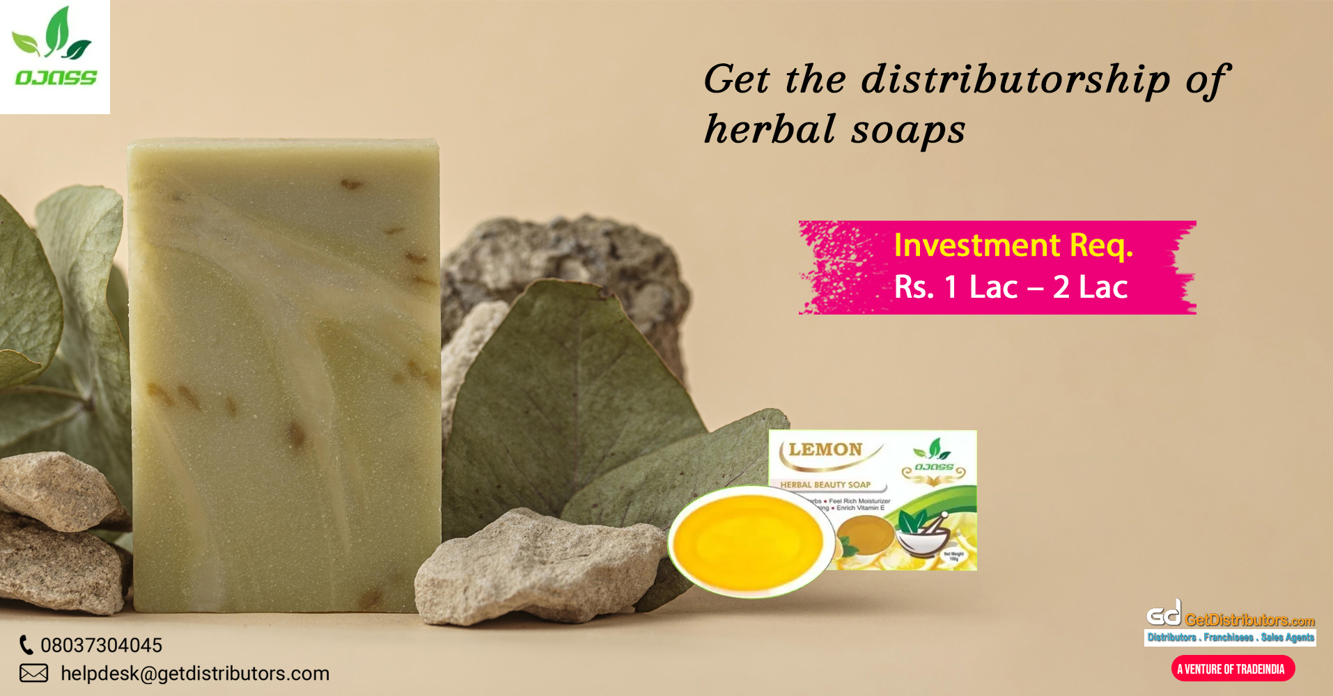 Herbal soaps at affordable rates