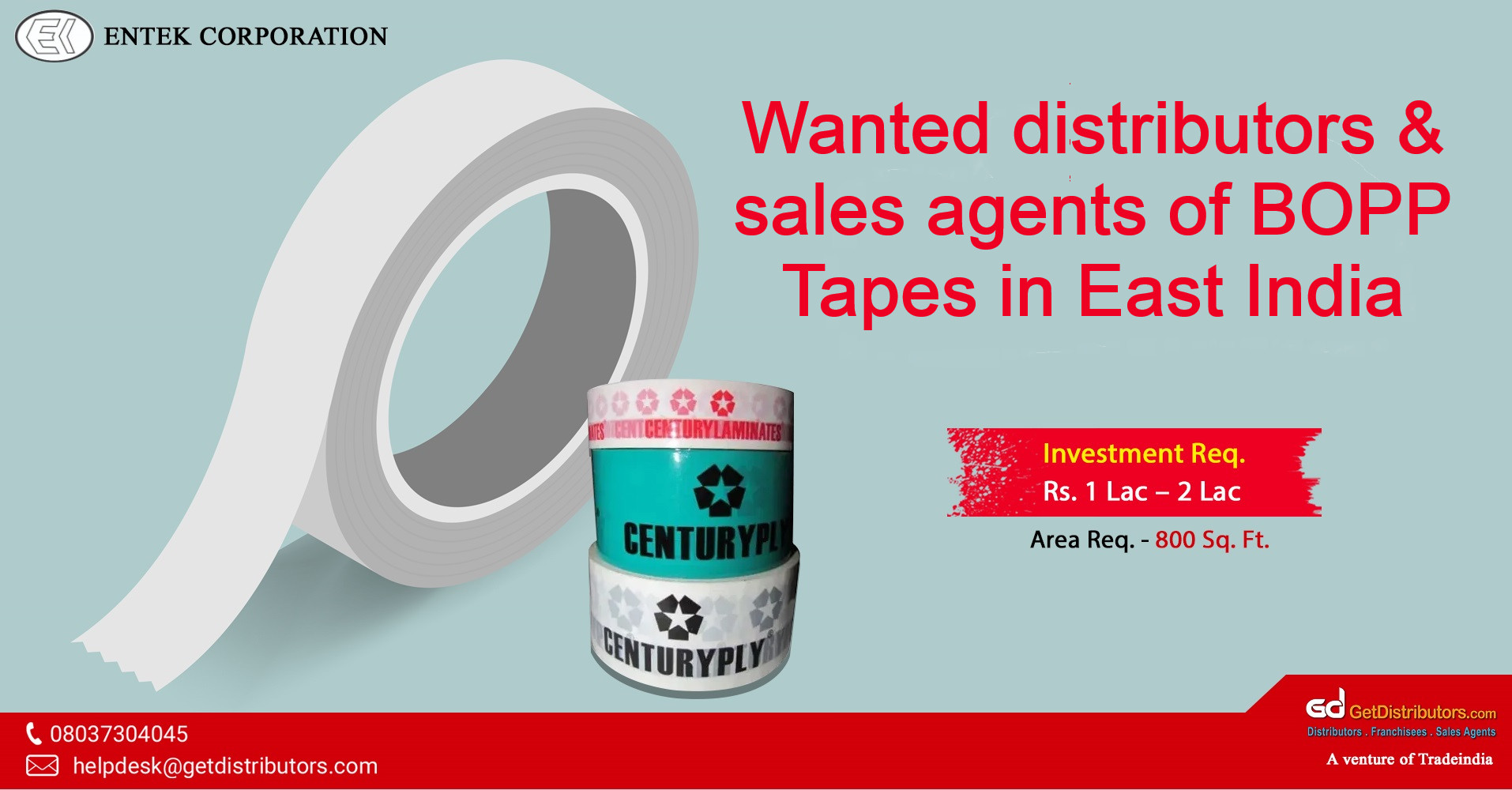 A variety of adhesive tapes at cost-effective rate