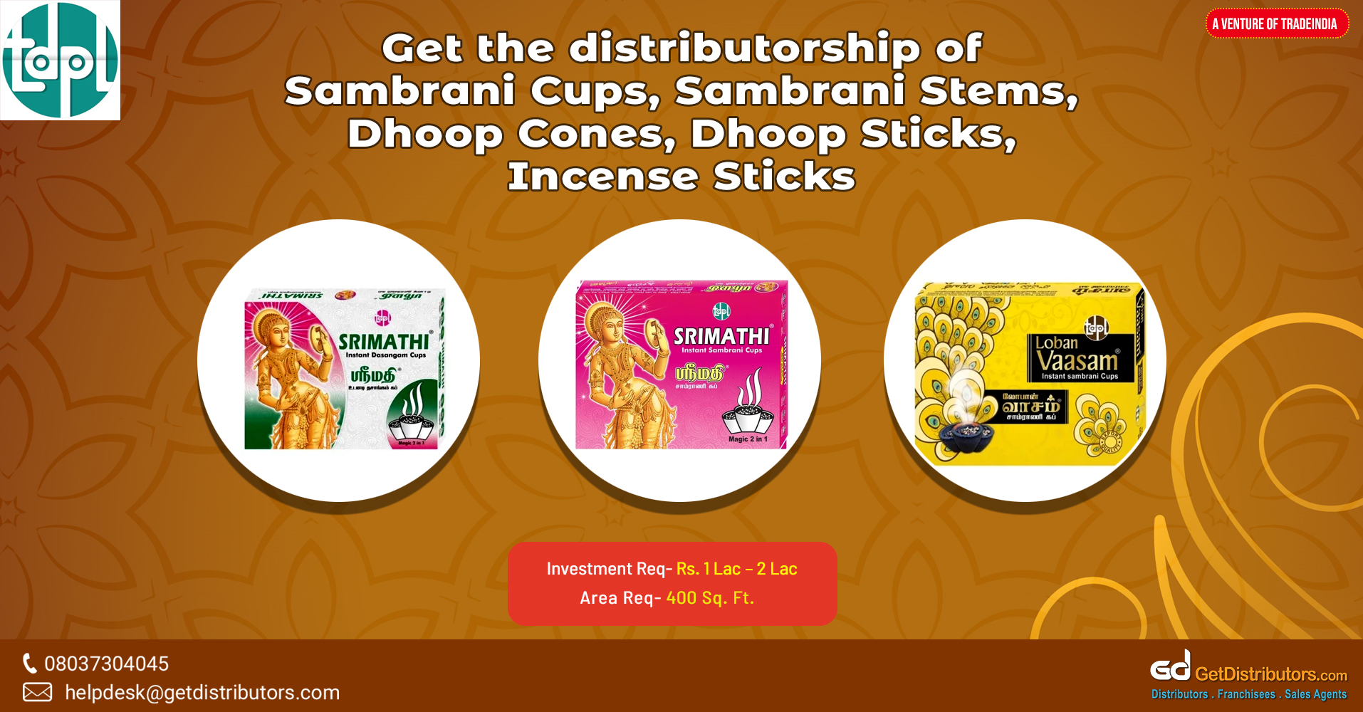 A wide range of incense sticks and similar products at pocket-friendly rates