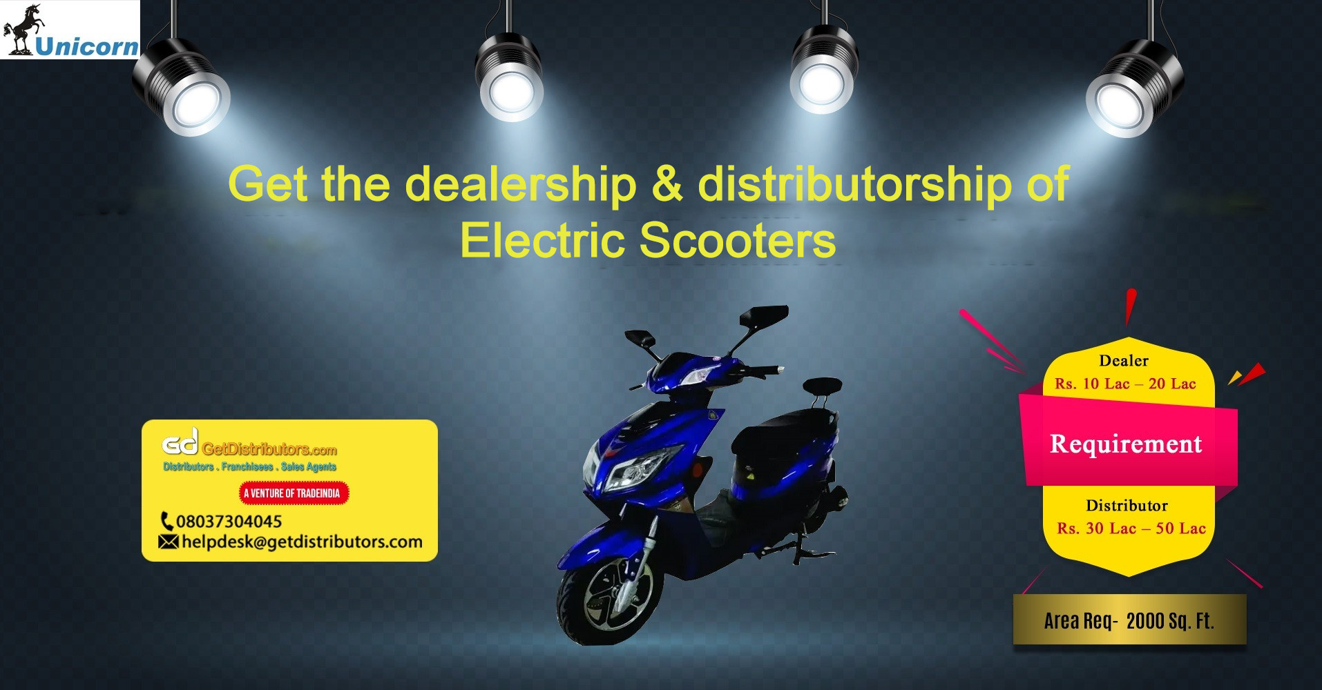 Eco-friendly E-Bike, E Rickshaw, and allied products for distribution